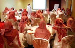 Imam Wahabi Menyerupai Pendeta Yahudi memakai ghurtah kain penutup kepala (tapi bukan sorban/turban)3