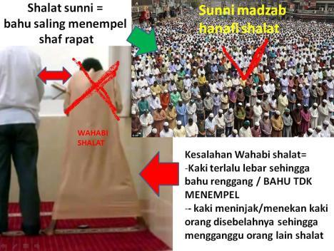 SHALAT SUNNI VS WAHABI