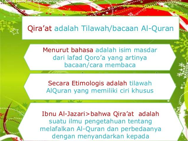 Pengertian Qiraat Mayalestari0105